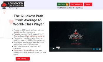 advanced poker training software