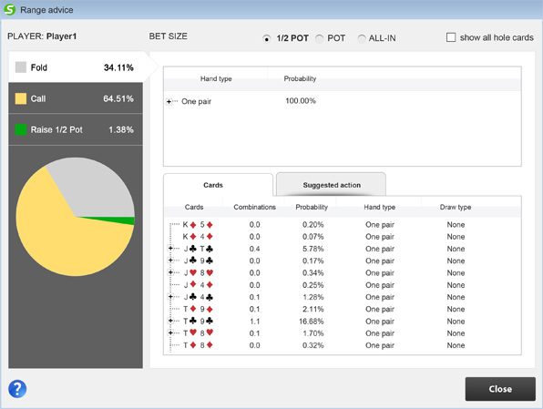 Poker coaching software jack casino cincinnati poker tournaments